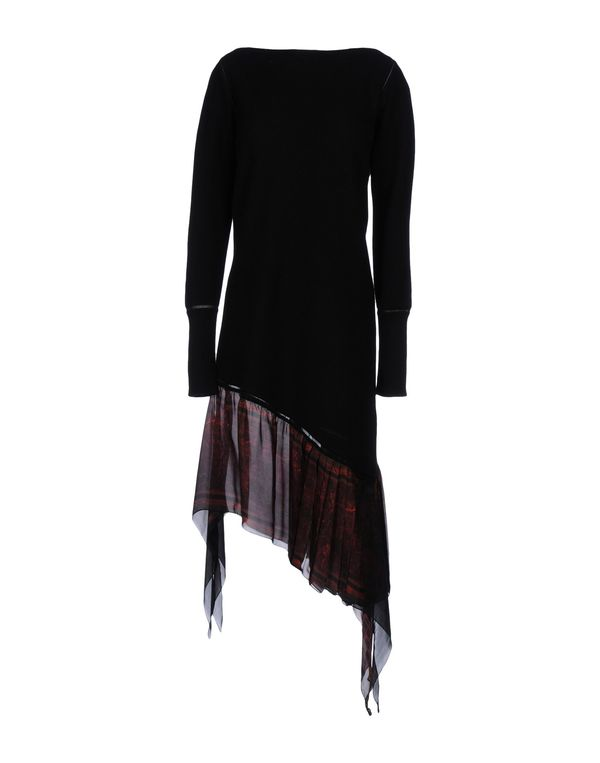 黑色 ROBERTO CAVALLI 短款连衣裙