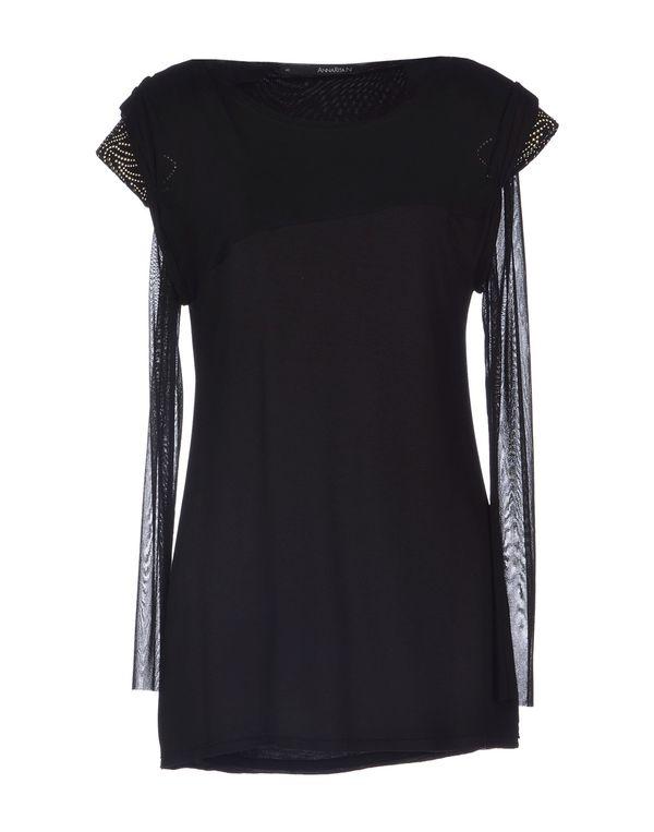 黑色 ANNARITA N. T-shirt