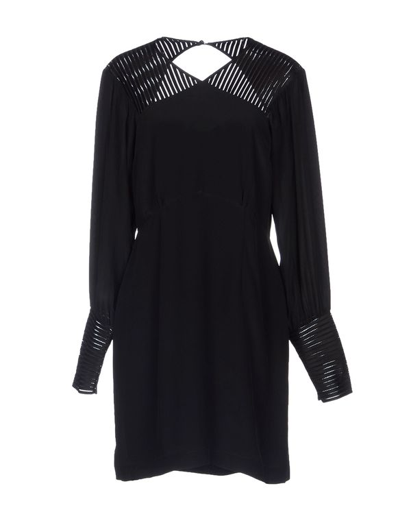 黑色 HOSS INTROPIA 短款连衣裙
