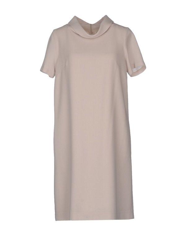 米色 P.A.R.O.S.H. 短款连衣裙