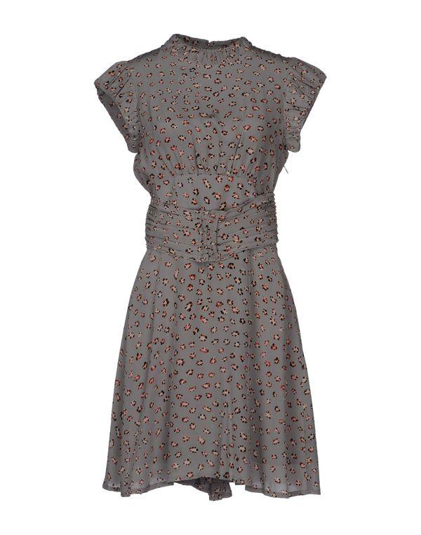淡灰色 TWENTY8TWELVE 短款连衣裙