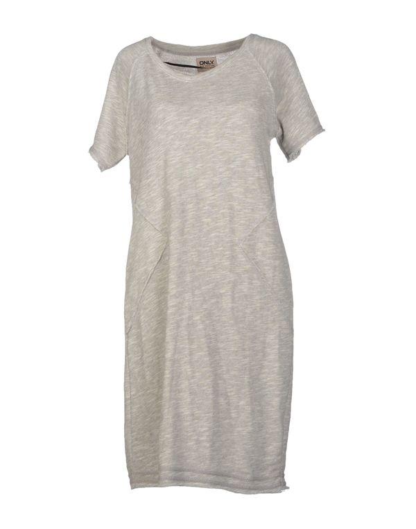 淡灰色 ONLY 短款连衣裙