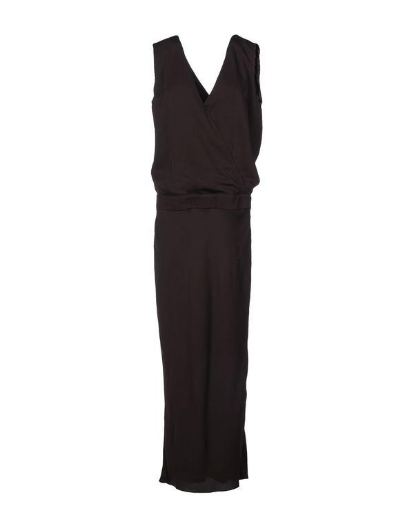 深棕色 BRUNELLO CUCINELLI 长款连衣裙