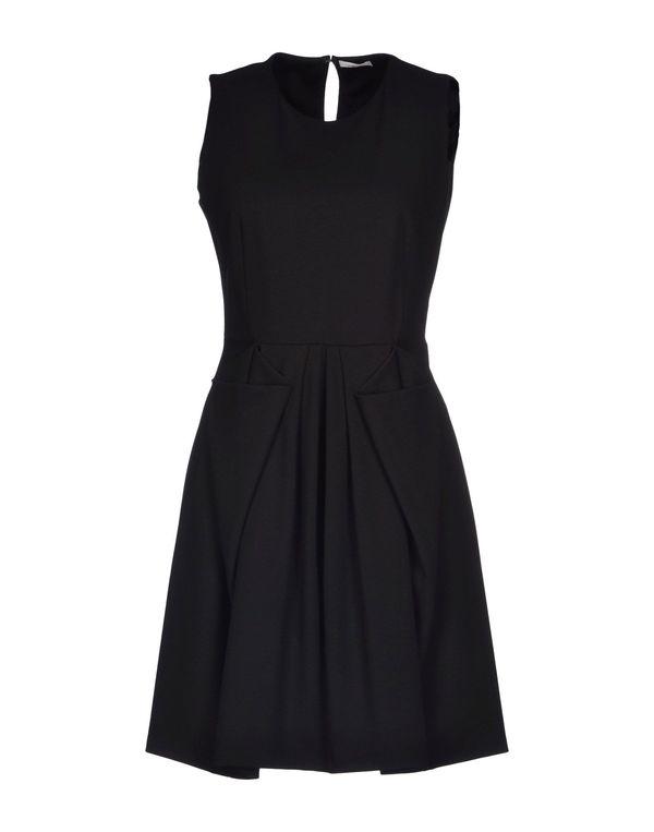 黑色 GOLD CASE 短款连衣裙