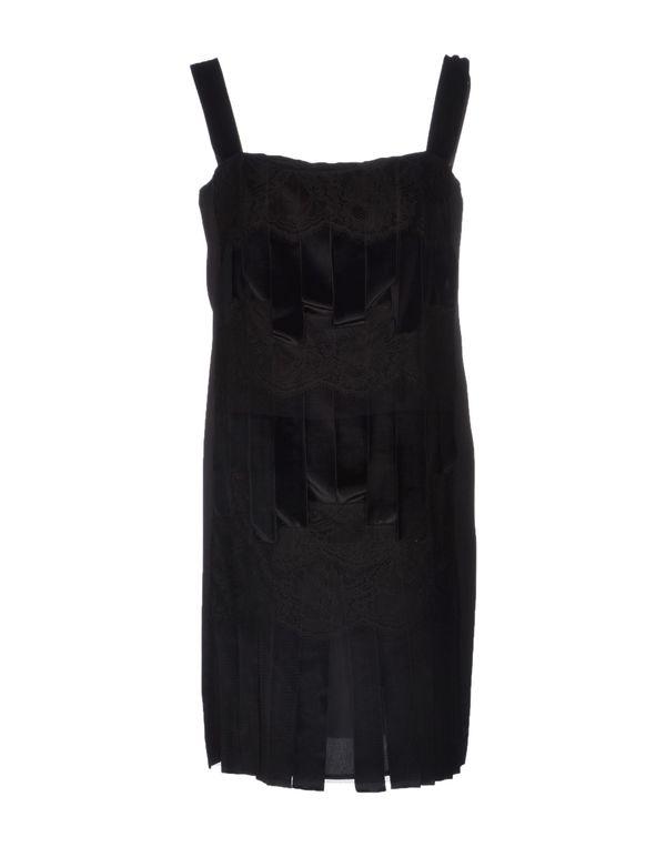 黑色 ALBERTA FERRETTI 短款连衣裙