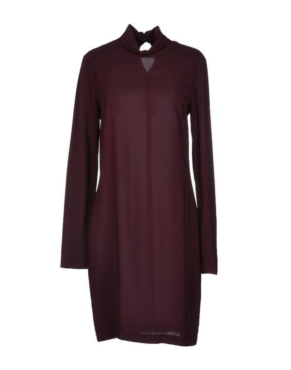 深紫 SUOLI 短款连衣裙