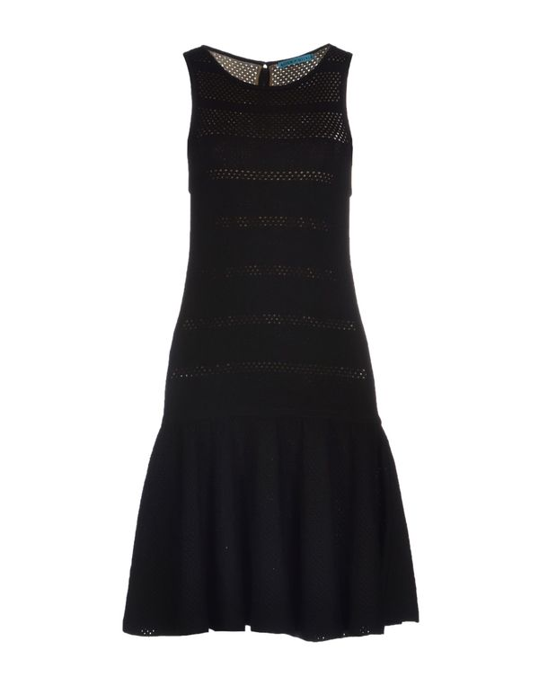 黑色 ALICE+OLIVIA 短款连衣裙