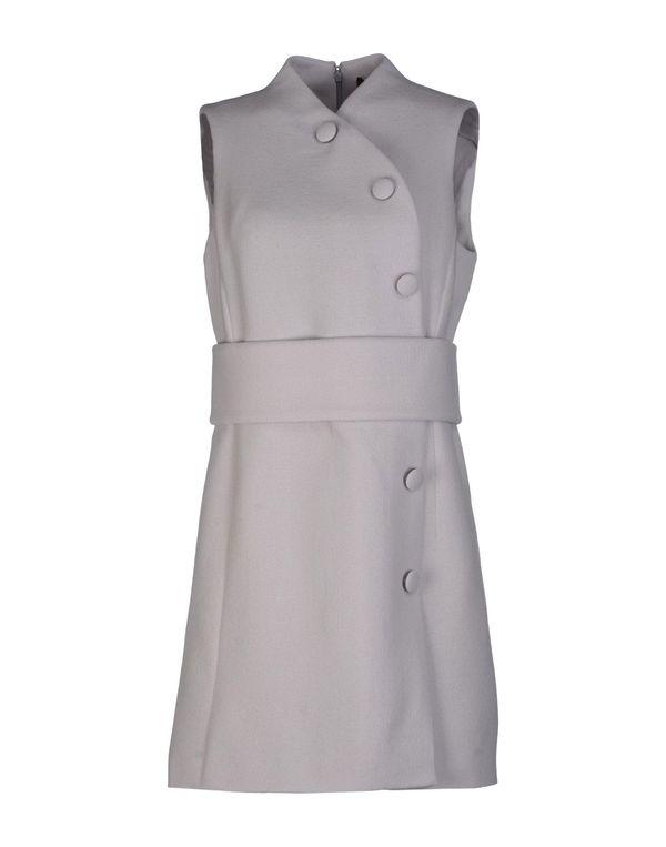 淡灰色 PROENZA SCHOULER 短款连衣裙