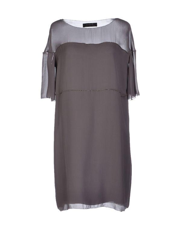 铅灰色 KRISTINA TI 短款连衣裙