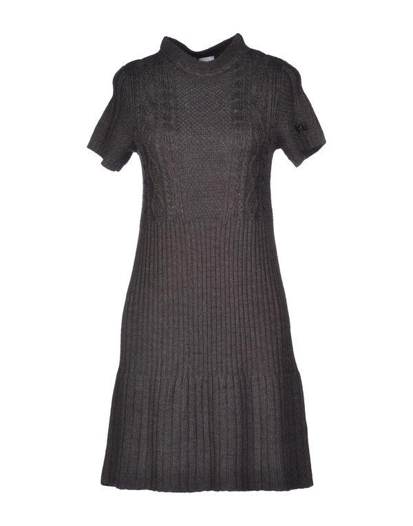 灰色 SCEE BY TWIN-SET 短款连衣裙