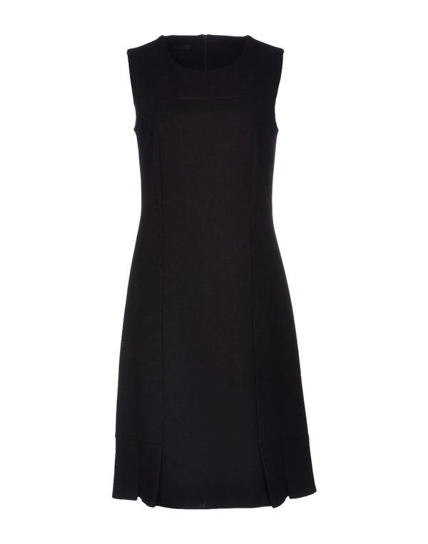 黑色 LES COPAINS 短款连衣裙