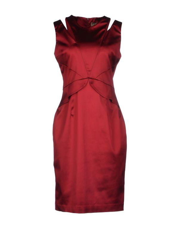 石榴红 SPACE STYLE CONCEPT 短款连衣裙
