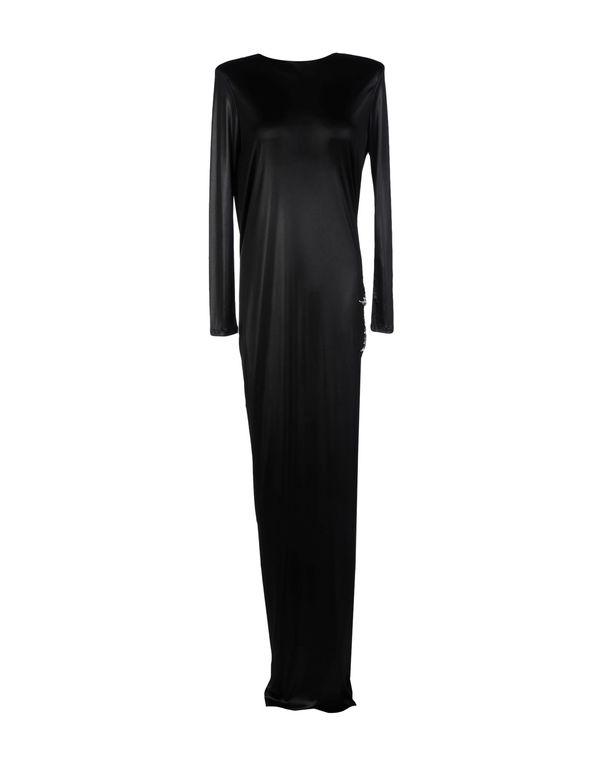 黑色 BALMAIN 长款连衣裙