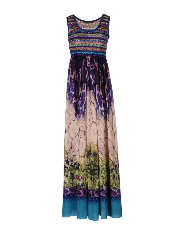 紫色 ALBERTA FERRETTI 长款连衣裙