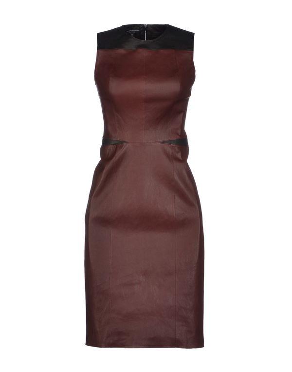 深紫 NARCISO RODRIGUEZ 及膝连衣裙