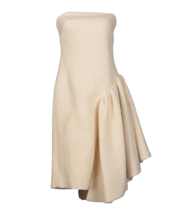 象牙白 SIMONE ROCHA 短款连衣裙