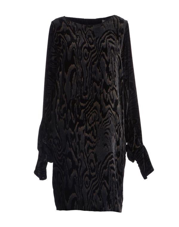 青灰色 VIKTOR & ROLF 短款连衣裙