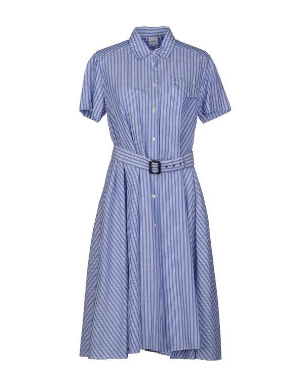 中蓝 ASPESI 及膝连衣裙
