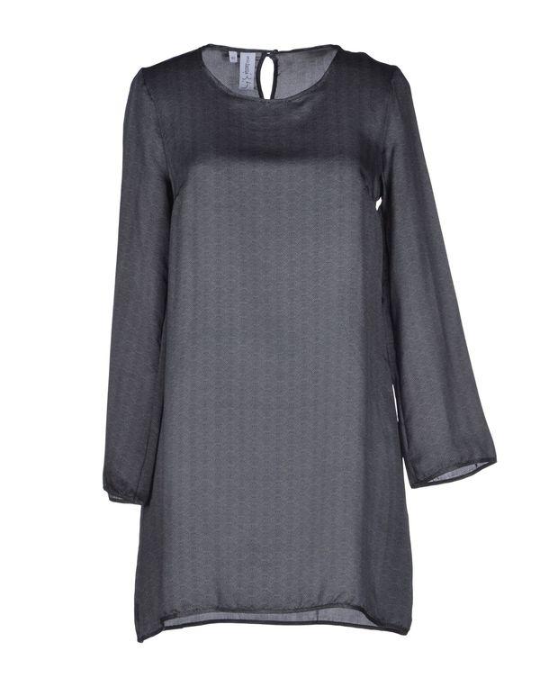 铅灰色 ETICHETTA 35 短款连衣裙