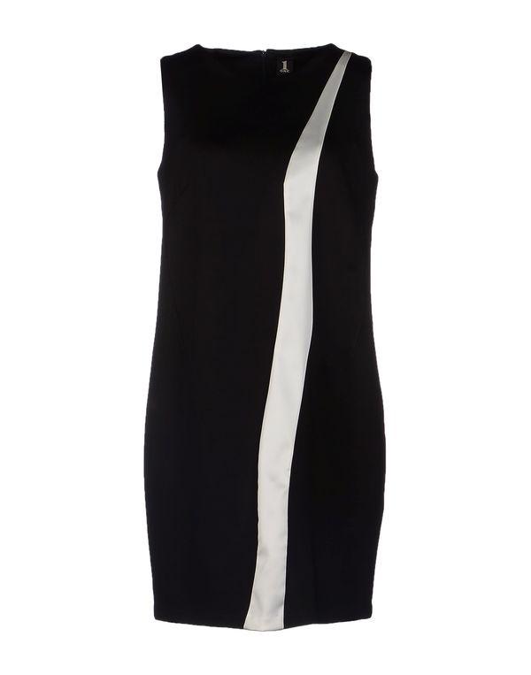 黑色 1 ONE 短款连衣裙