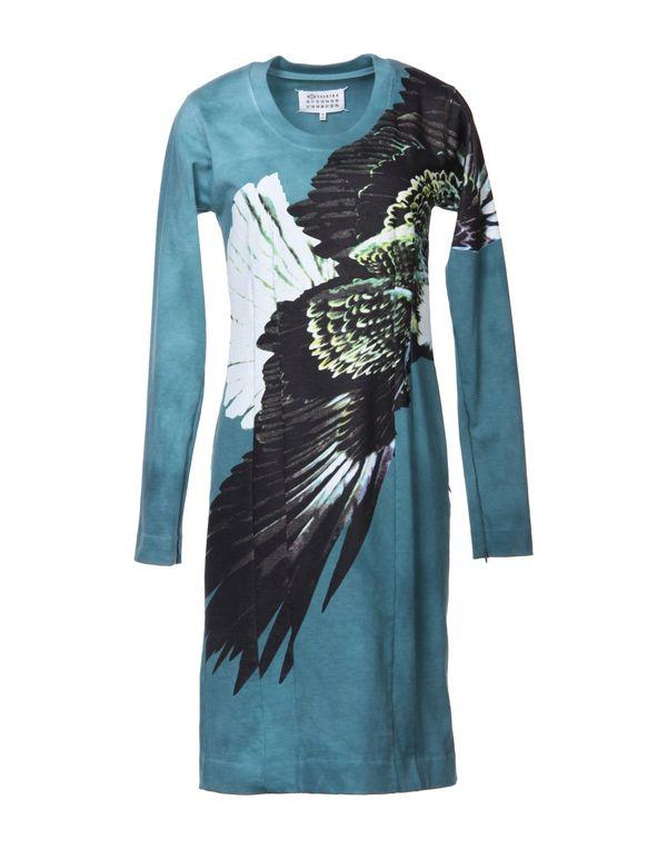 孔雀绿 MAISON MARTIN MARGIELA 1 短款连衣裙
