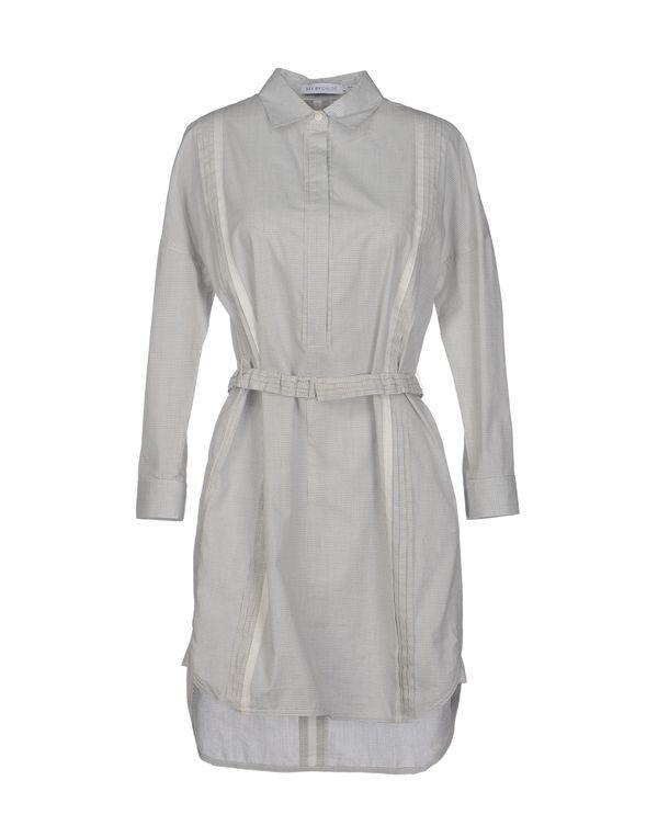 淡灰色 SEE BY CHLOÉ 短款连衣裙