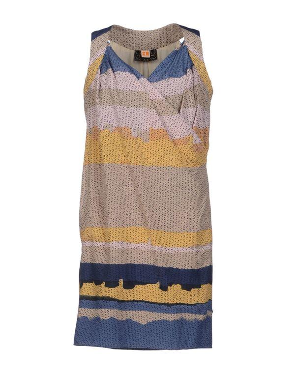 米色 BOSS ORANGE 短款连衣裙