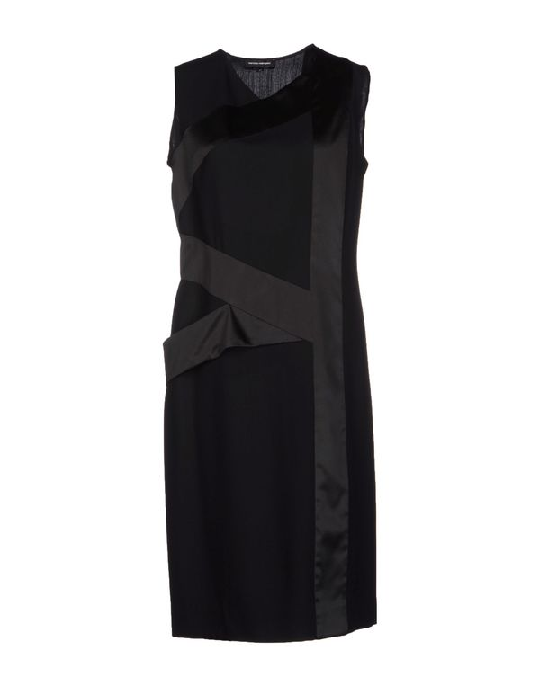 黑色 NARCISO RODRIGUEZ 及膝连衣裙