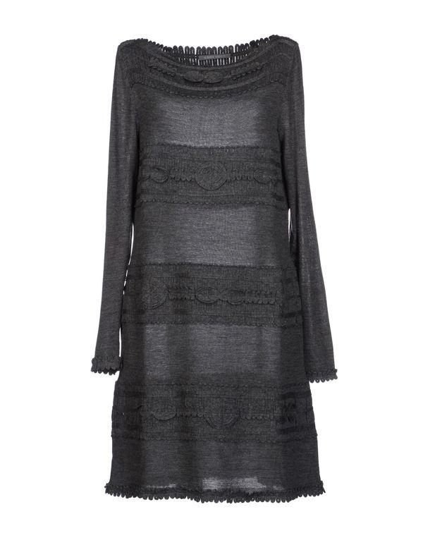 铅灰色 ALBERTA FERRETTI 短款连衣裙