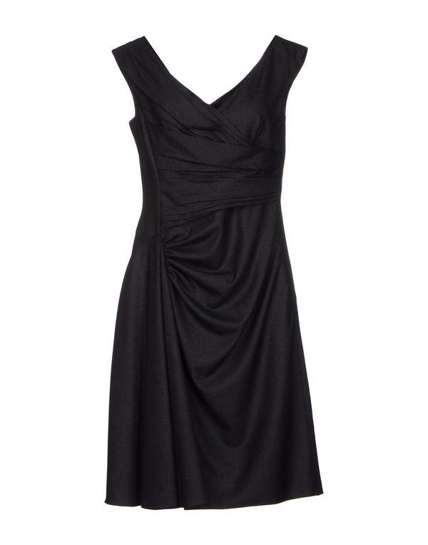 青灰色 VALENTINO 短款连衣裙