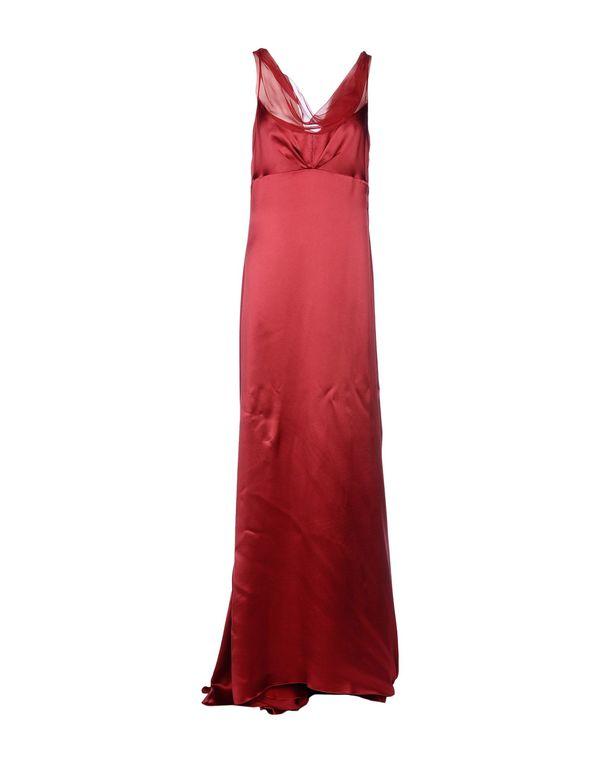 红色 ALBERTA FERRETTI 长款连衣裙
