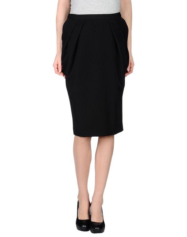 黑色 LAVINIATURRA 及膝半裙