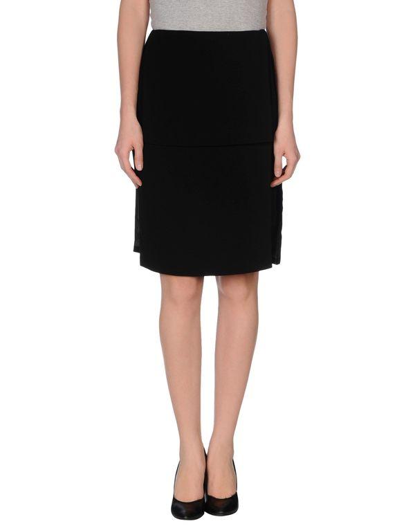 黑色 OPENING CEREMONY 及膝半裙