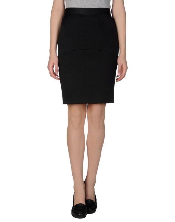 黑色 M MISSONI 及膝半裙