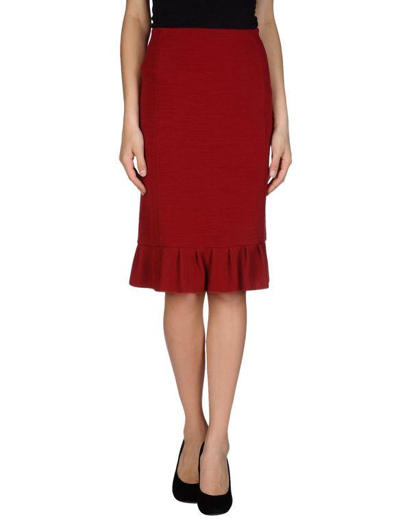 砖红 EMPORIO ARMANI 半长裙