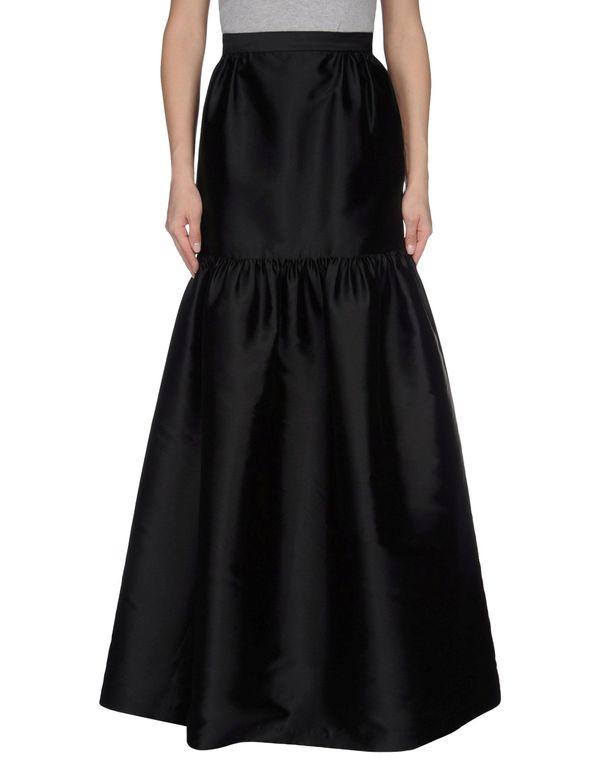 黑色 PRABAL GURUNG 长裙