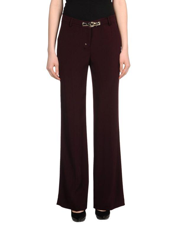 深紫 PINKO BLACK 裤装