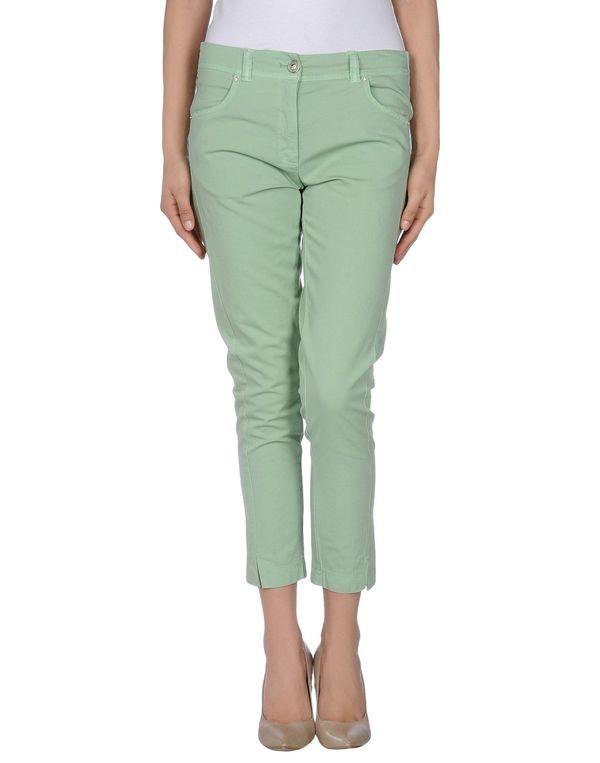 浅绿色 ANNARITA N. 裤装