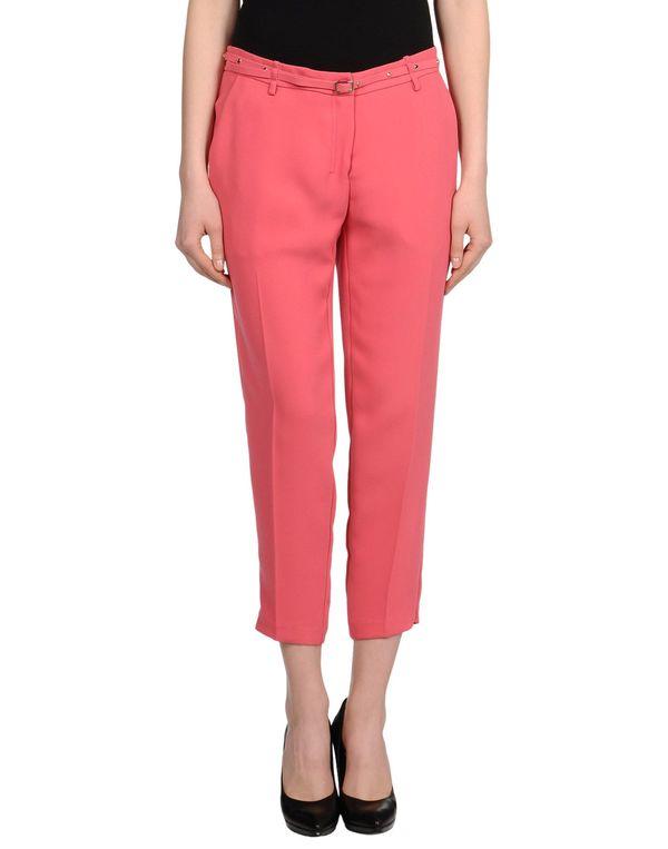玫红色 ANNARITA N. 七分裤