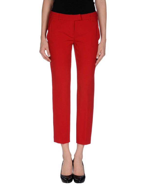 砖红 MOSCHINO CHEAPANDCHIC 七分裤