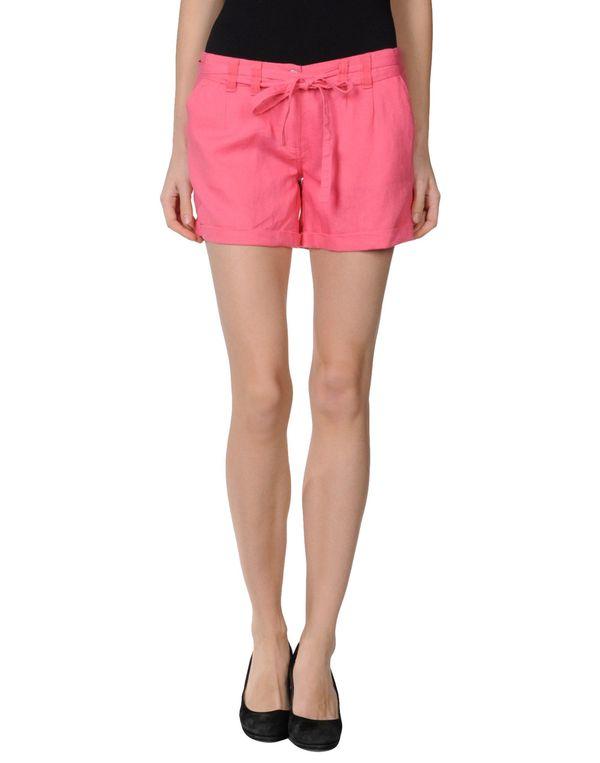 玫红色 ONLY 短裤