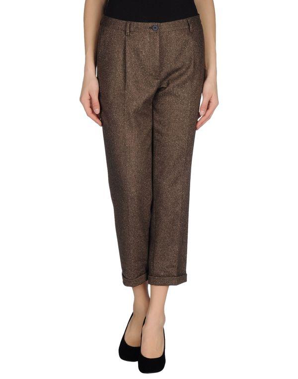 棕色 MAURO GRIFONI 裤装