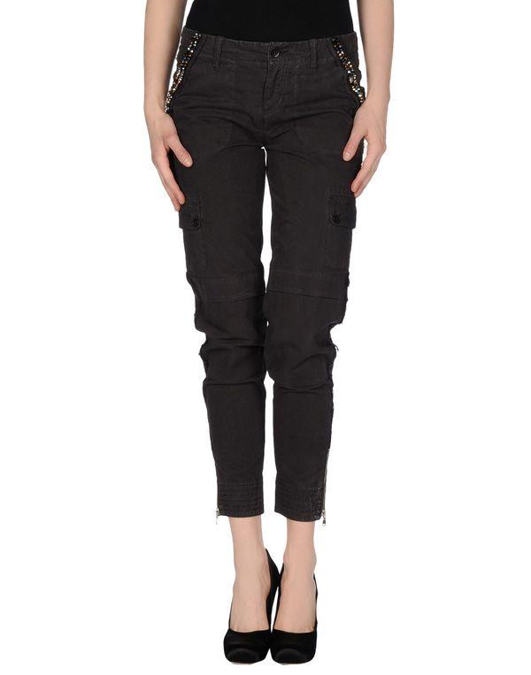 青灰色 LIU •JO JEANS 裤装