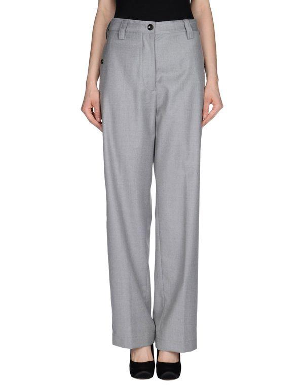 灰色 MAURO GRIFONI 裤装