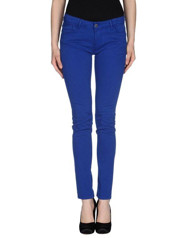 蓝色 PIANURASTUDIO 裤装