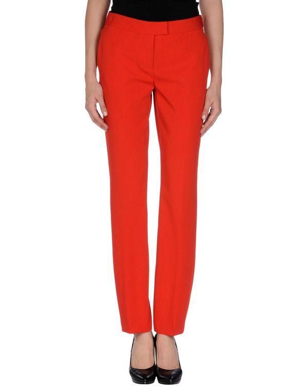 红色 MOSCHINO CHEAPANDCHIC 裤装
