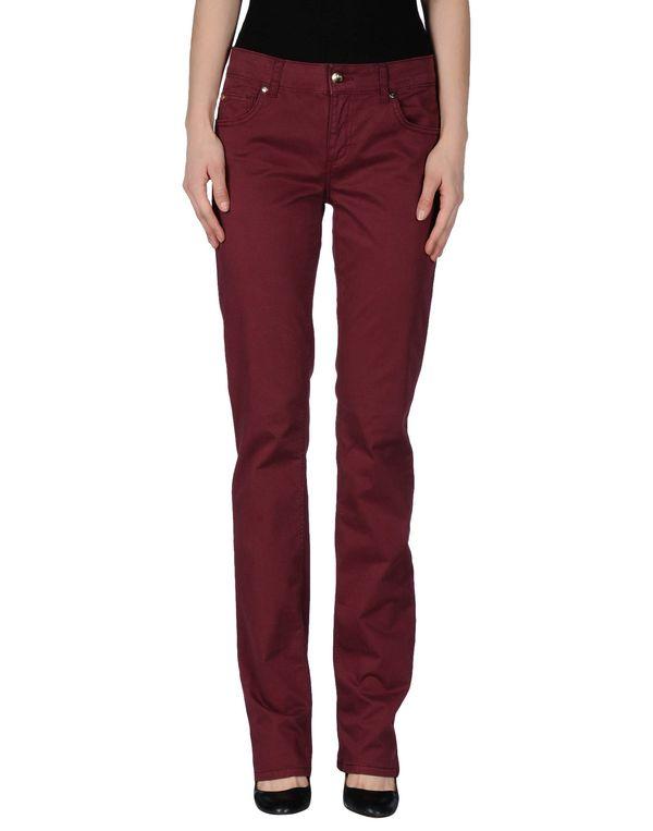 石榴红 LIU •JO JEANS 裤装