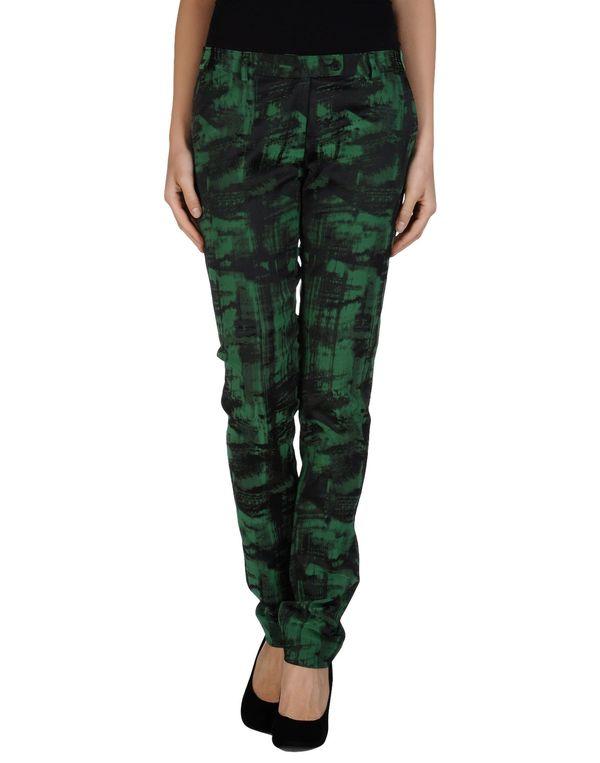 绿色 NEW YORK INDUSTRIE 裤装