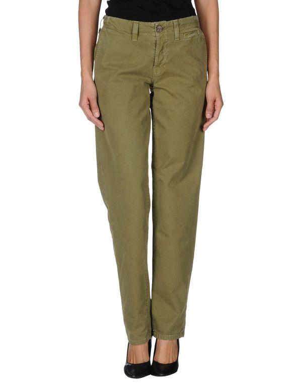 军绿色 J BRAND 裤装