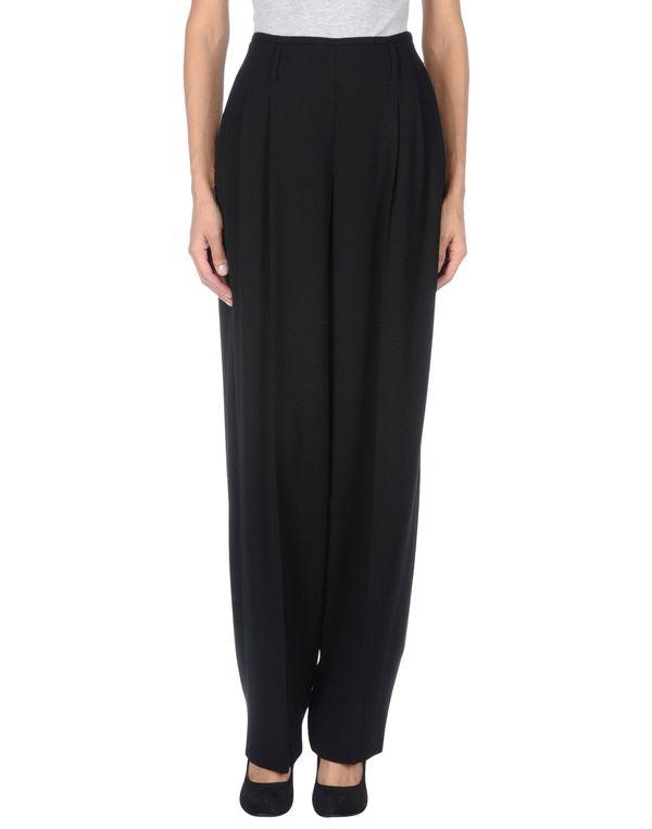 黑色 ARMANI COLLEZIONI 裤装